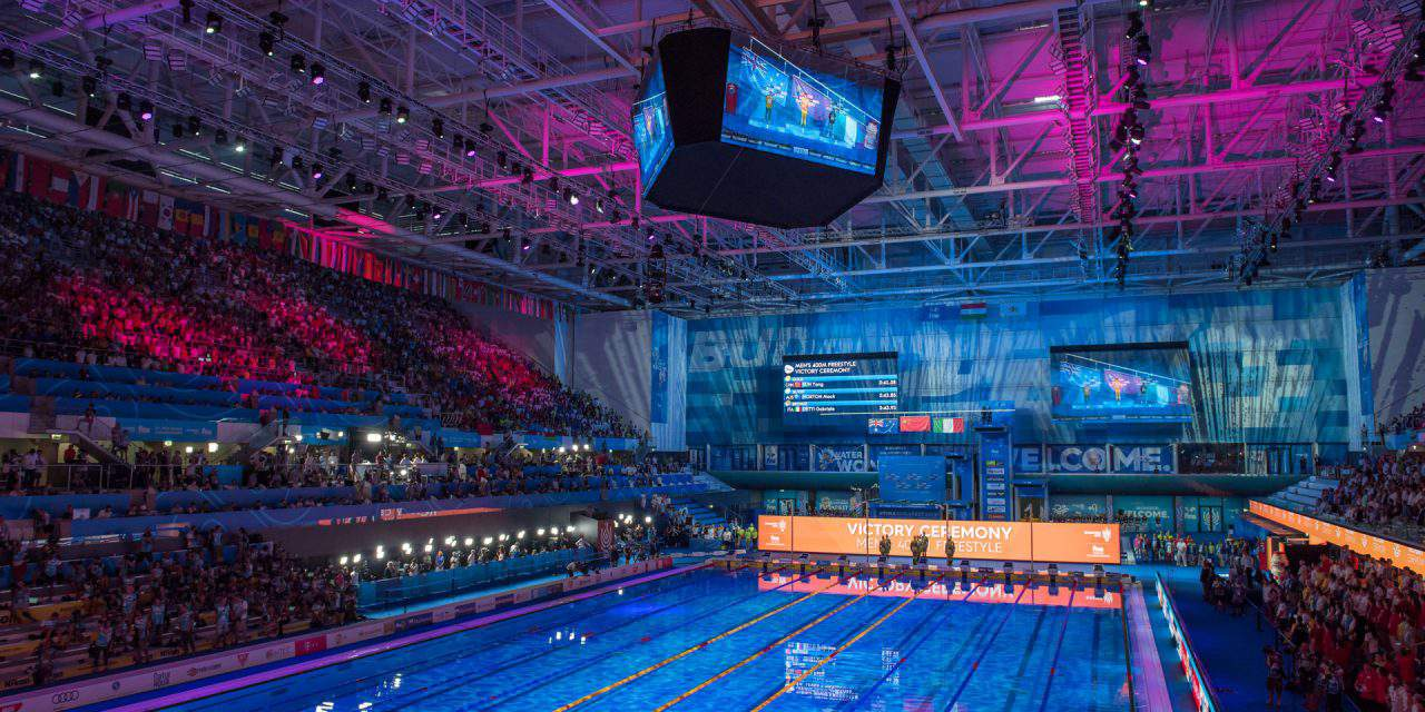 On this week: Swimming World Cup in Budapest – Ticket and program informations
