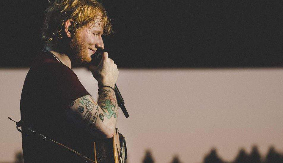ed sheeran concert facebook