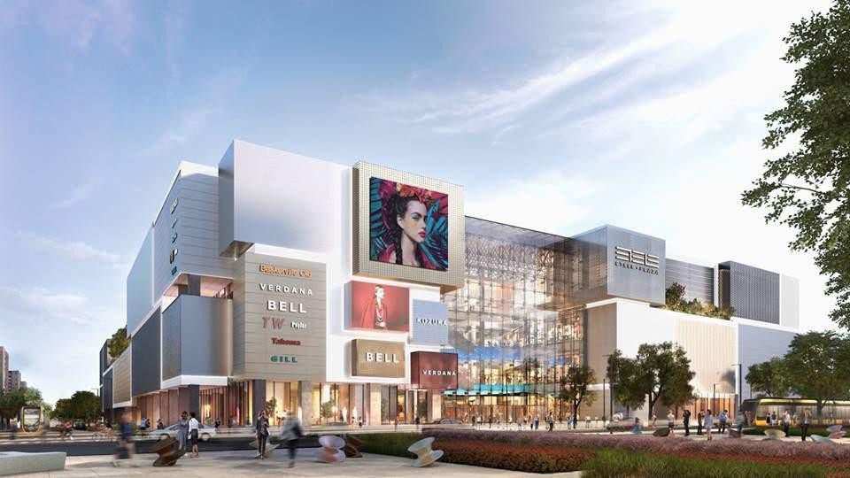 Etele Plaza new shopping mall