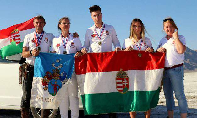 Hungarian archers set new world records in the US