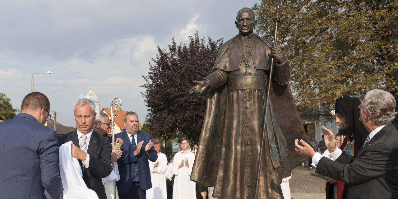 Monument to Mindszenty inaugurated in Northeast Hungary