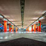 car park garage mélygarázs parkoló