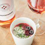 Recipe of the week: Beetroot soup with grape must and caramelized grapes