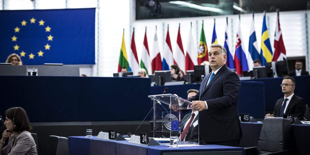 Orbán: Migration issue behind Sargentini report