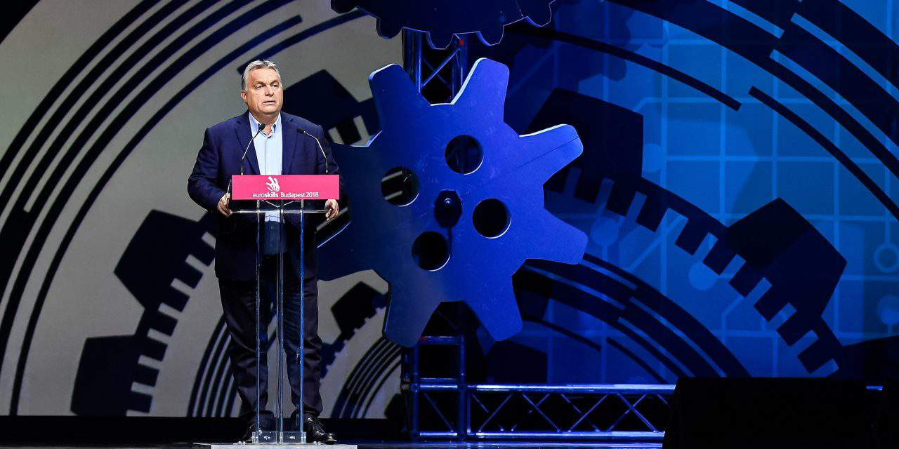 Orbán opens EuroSkills Budapest 2018 competition