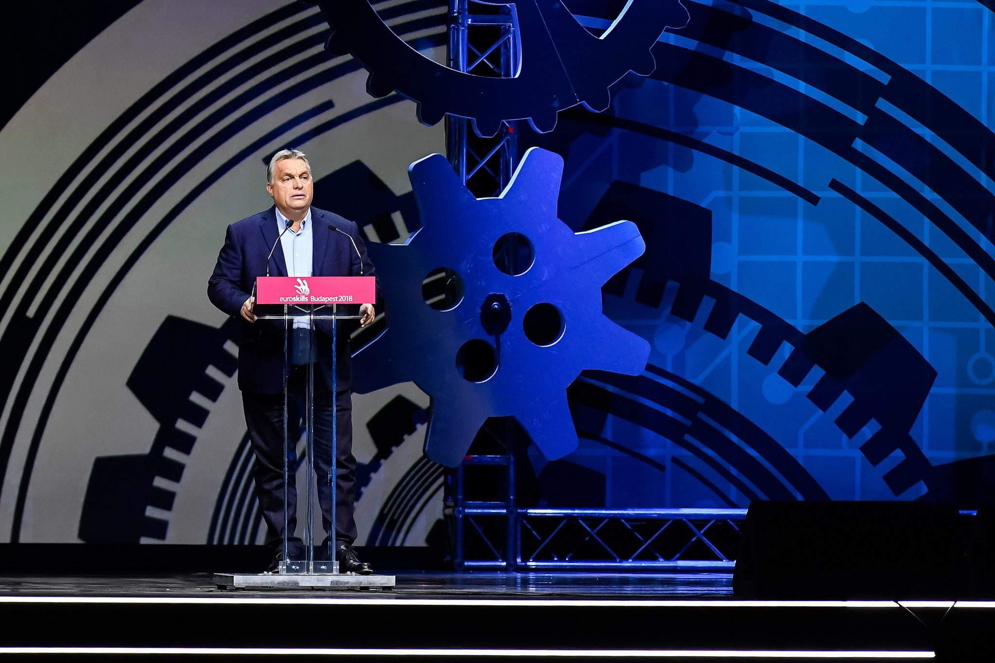 EuroSkills speech Orbán
