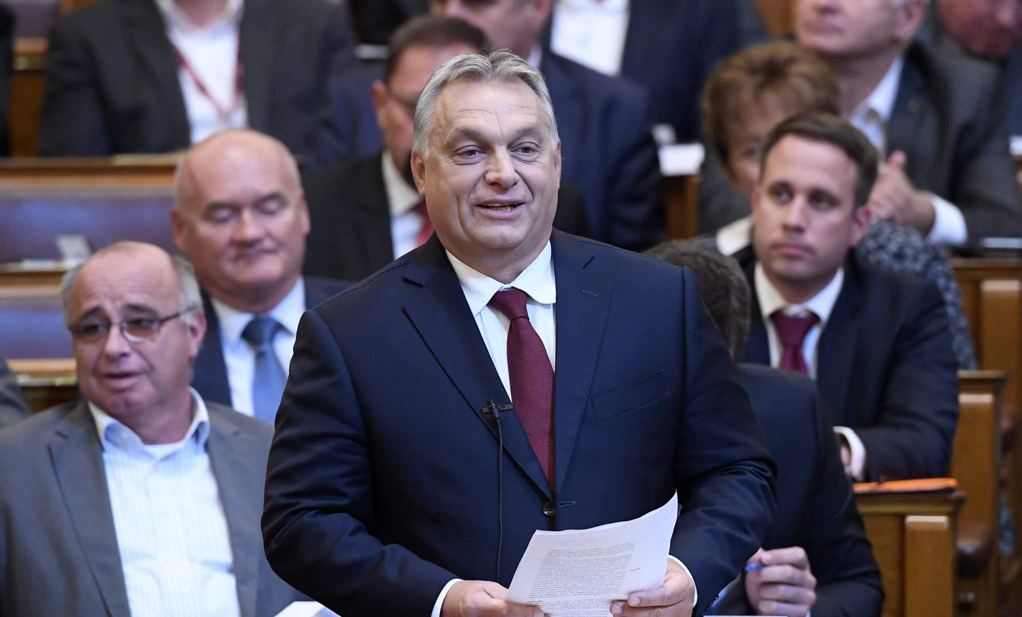 Orbán parliament speech
