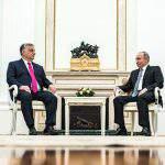 Orbán Putin Hungary Russia