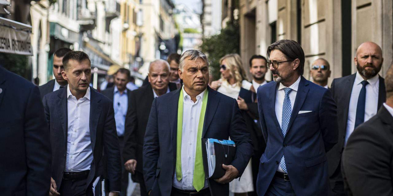 Orbán's cabinet: Sargentini report 'last, desperate attack'