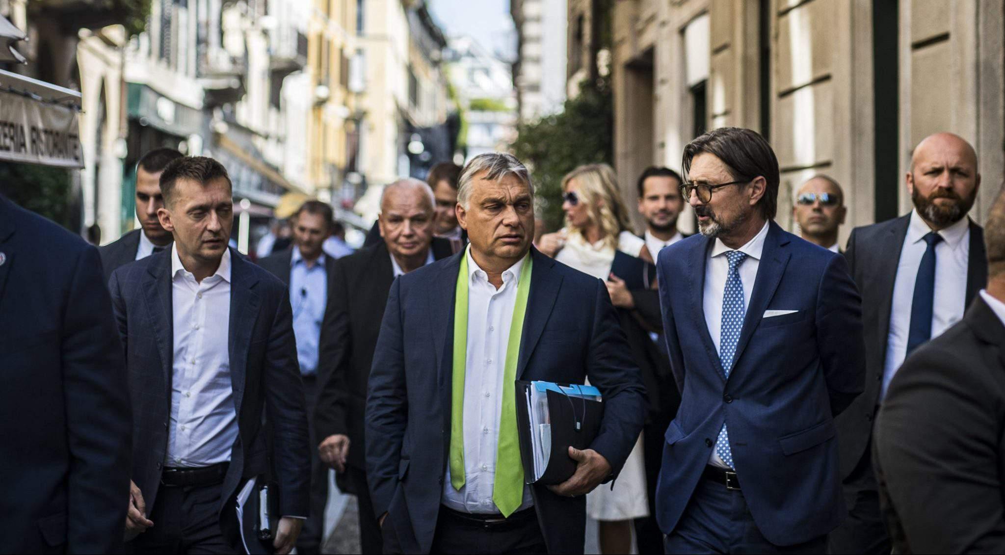 Orbán Rogán Italy