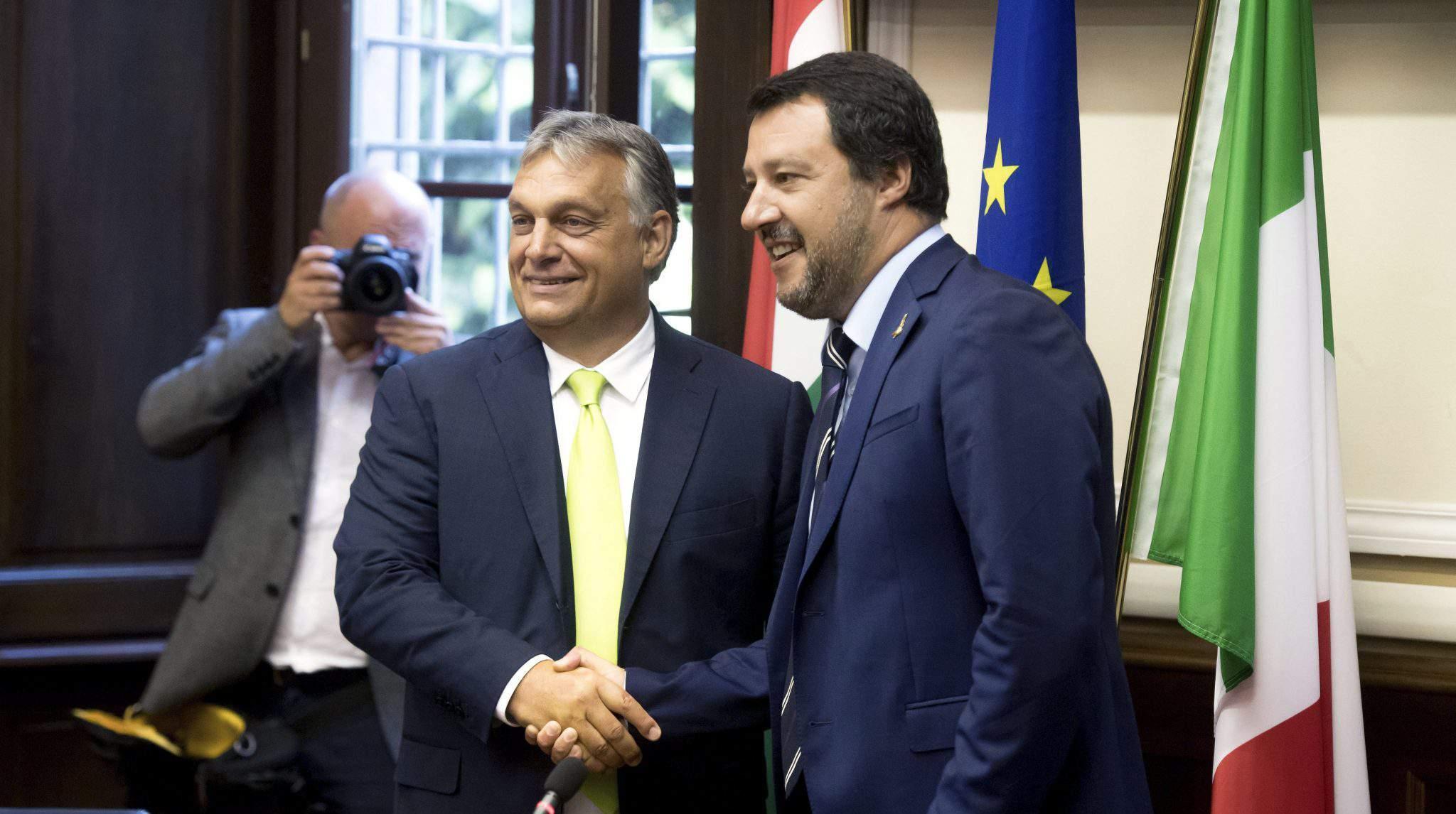 Orbán Salvini