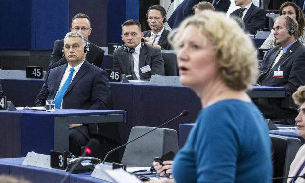 Opposition parties hail 'historic step' by EP approving Sargentini report