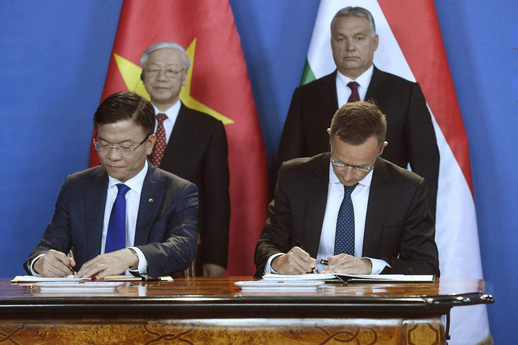 Orbán cooperation Vietnam