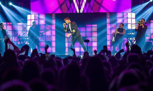 Ricky Martin loving Budapest