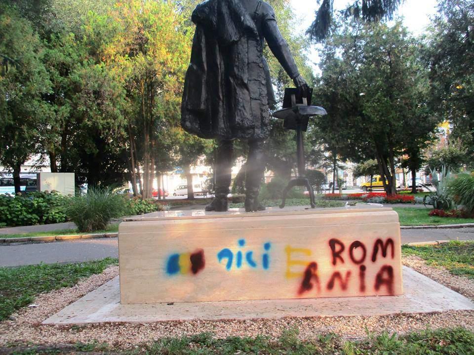 Széchenyi statue Romania