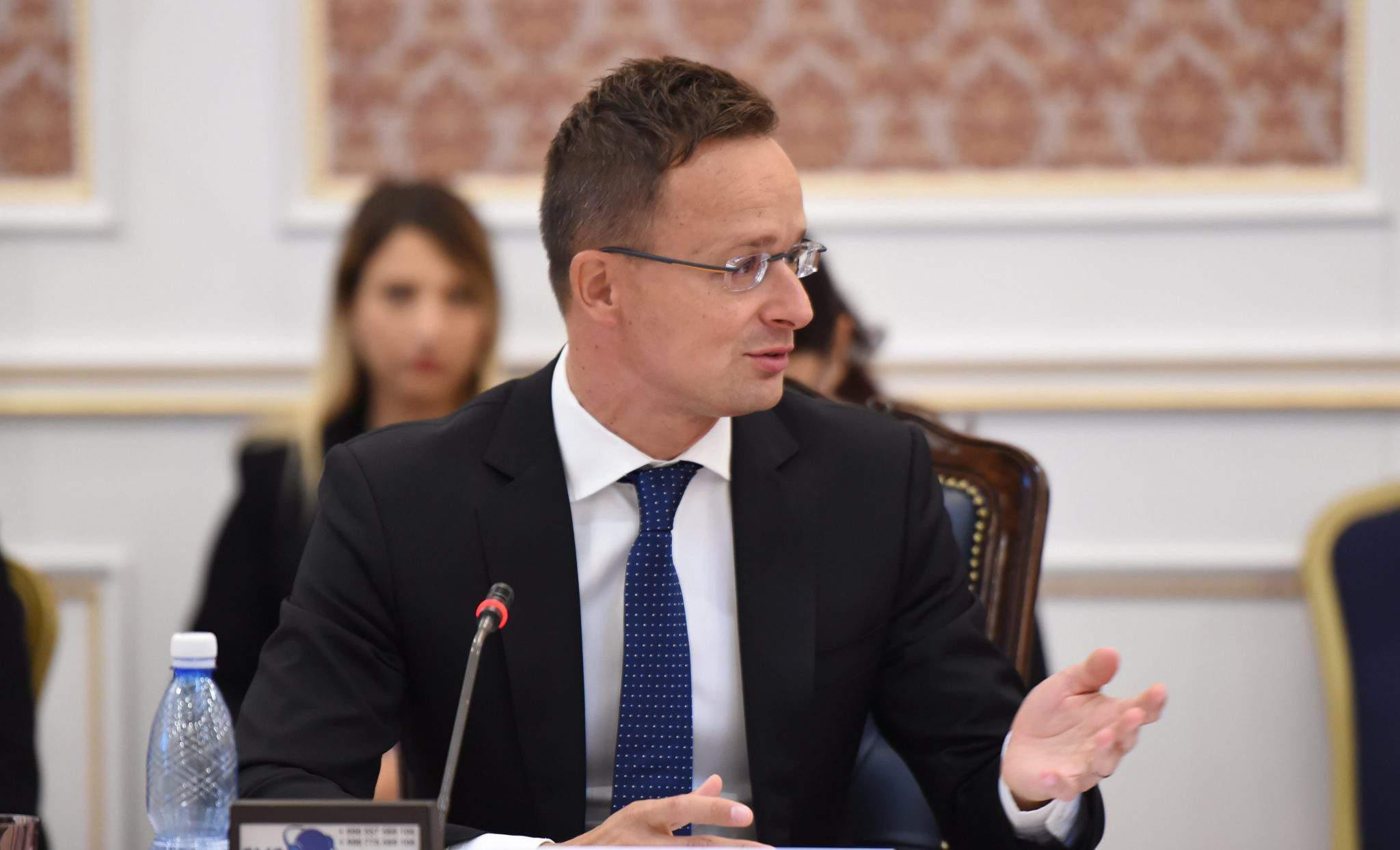 foreign minister speech