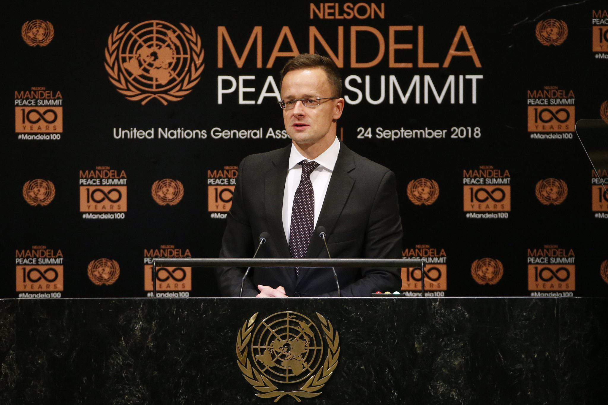 Foreign minister Mandela Peace Summit