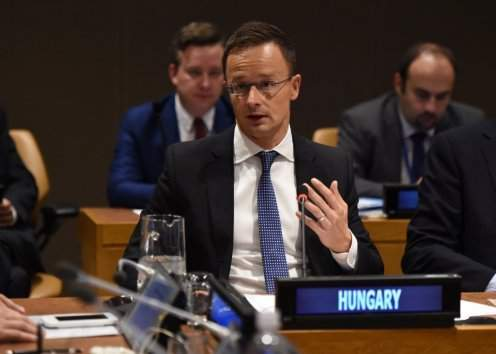 Hungarian foreign minister: Support must be provided for the involvement of young people in peace mediation efforts