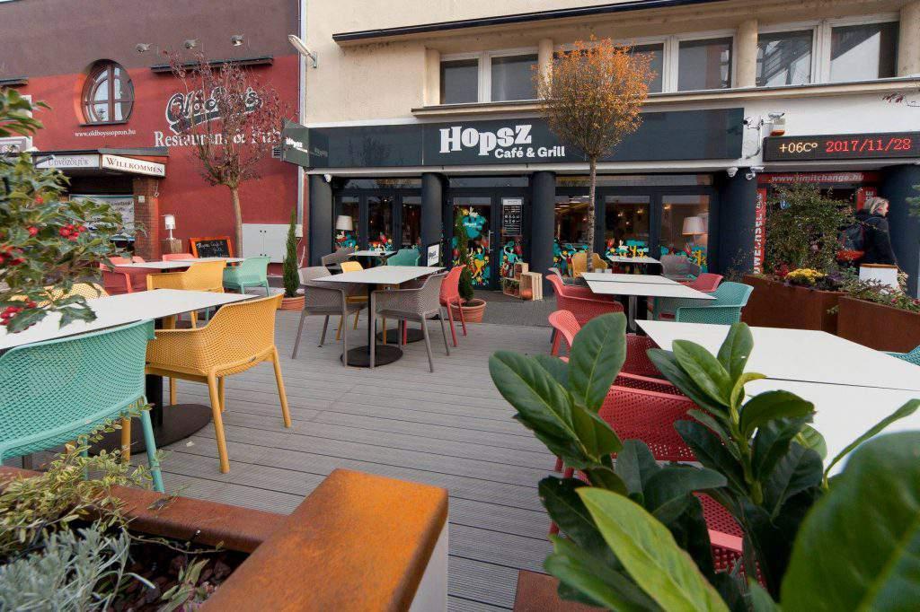 Hopsz Café and Grill Sopron Étterem Kávézó