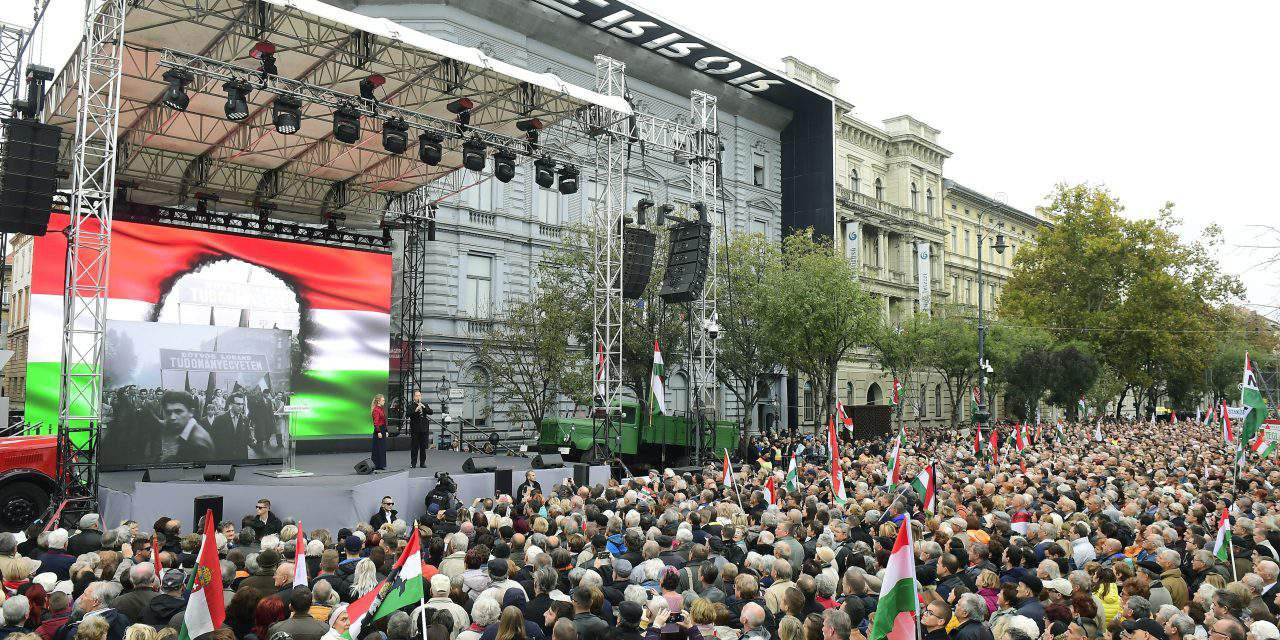 October 23 – Hungary commemorates 1956 uprising – Photo gallery