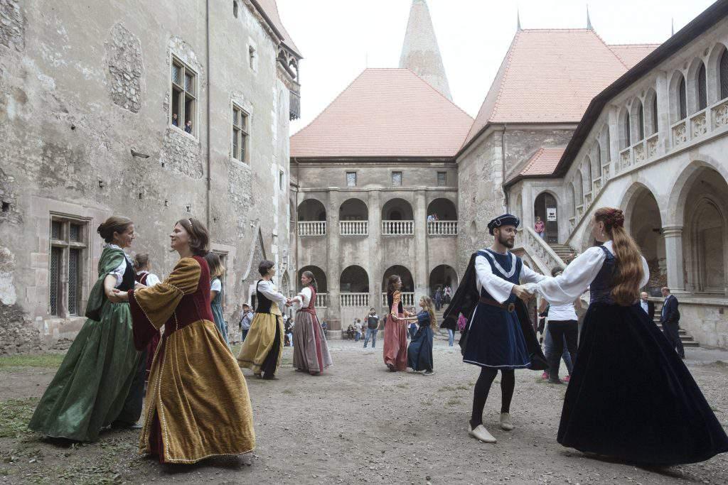Hunyad castle Vajdahunyad