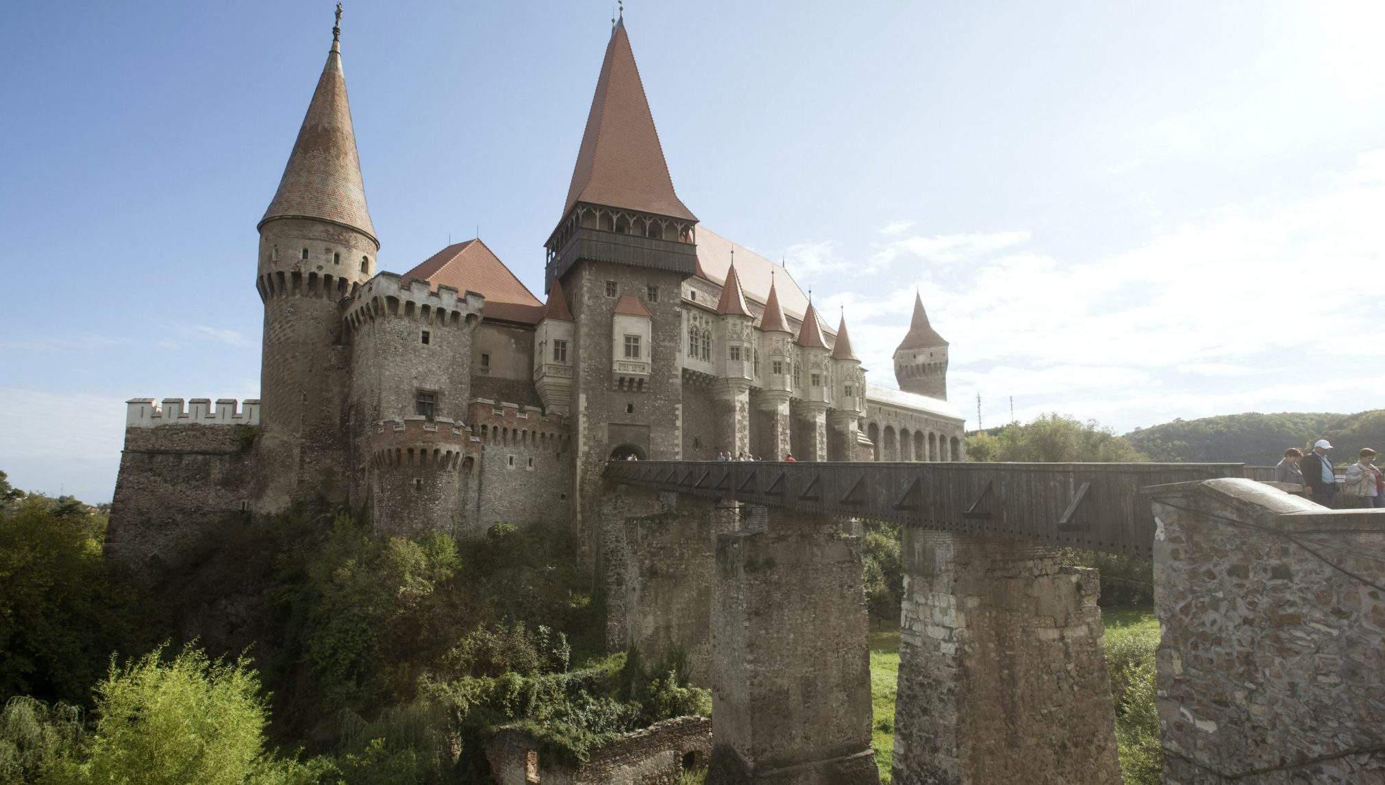Vajdahunyad castle Corvin Castle