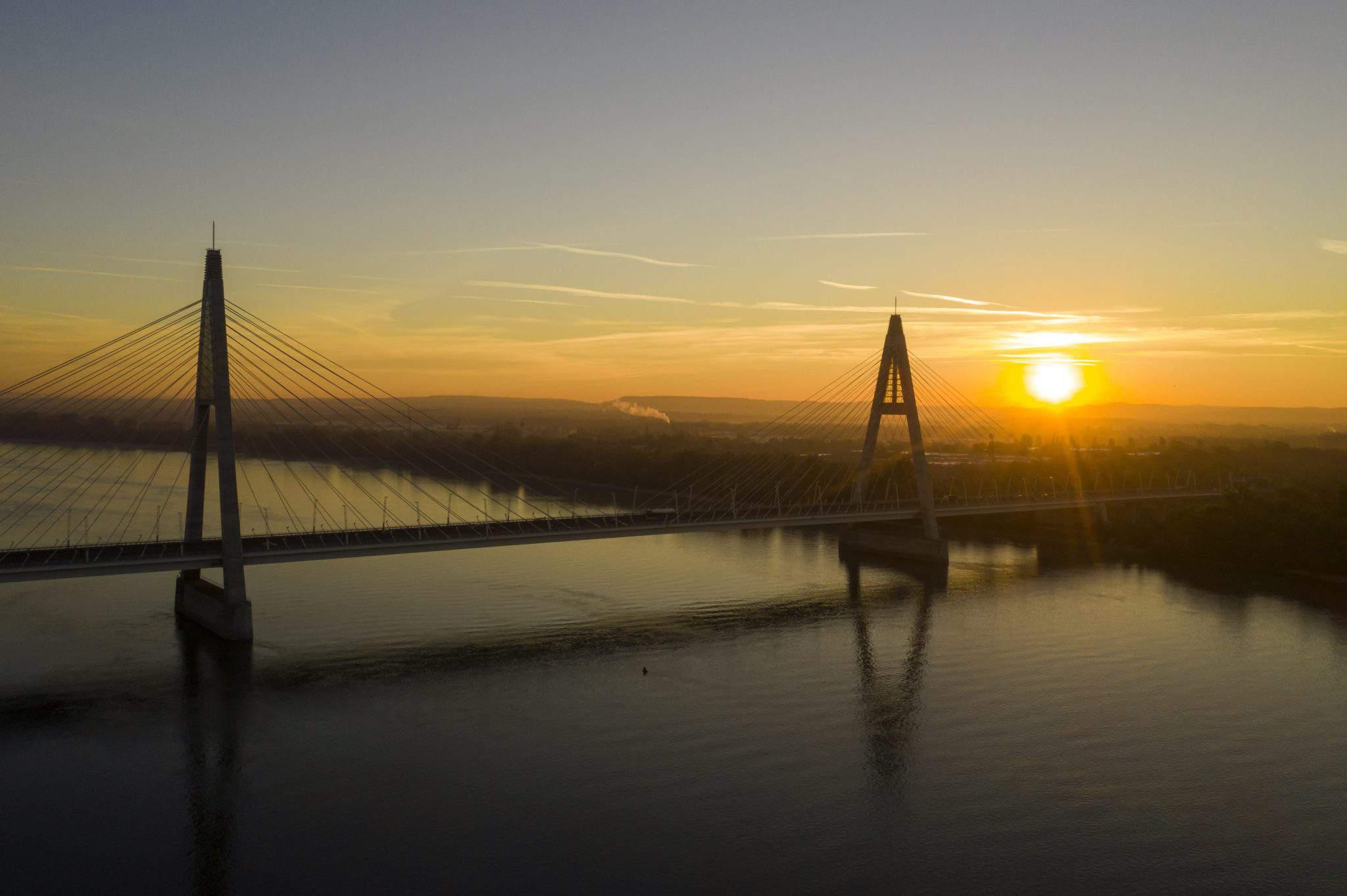 Megyeri Bridge Budapest