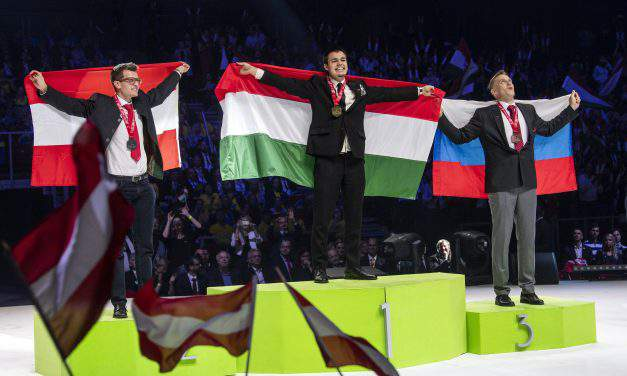 Huge success: Hungarian professionals rock at Euroskills competition