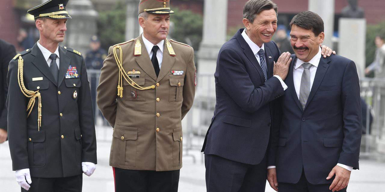 Hungarian President Áder held talks in Slovenia