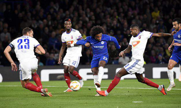 Vidi lose 1-0 against Chelsea but put in a proud performance – Europa League