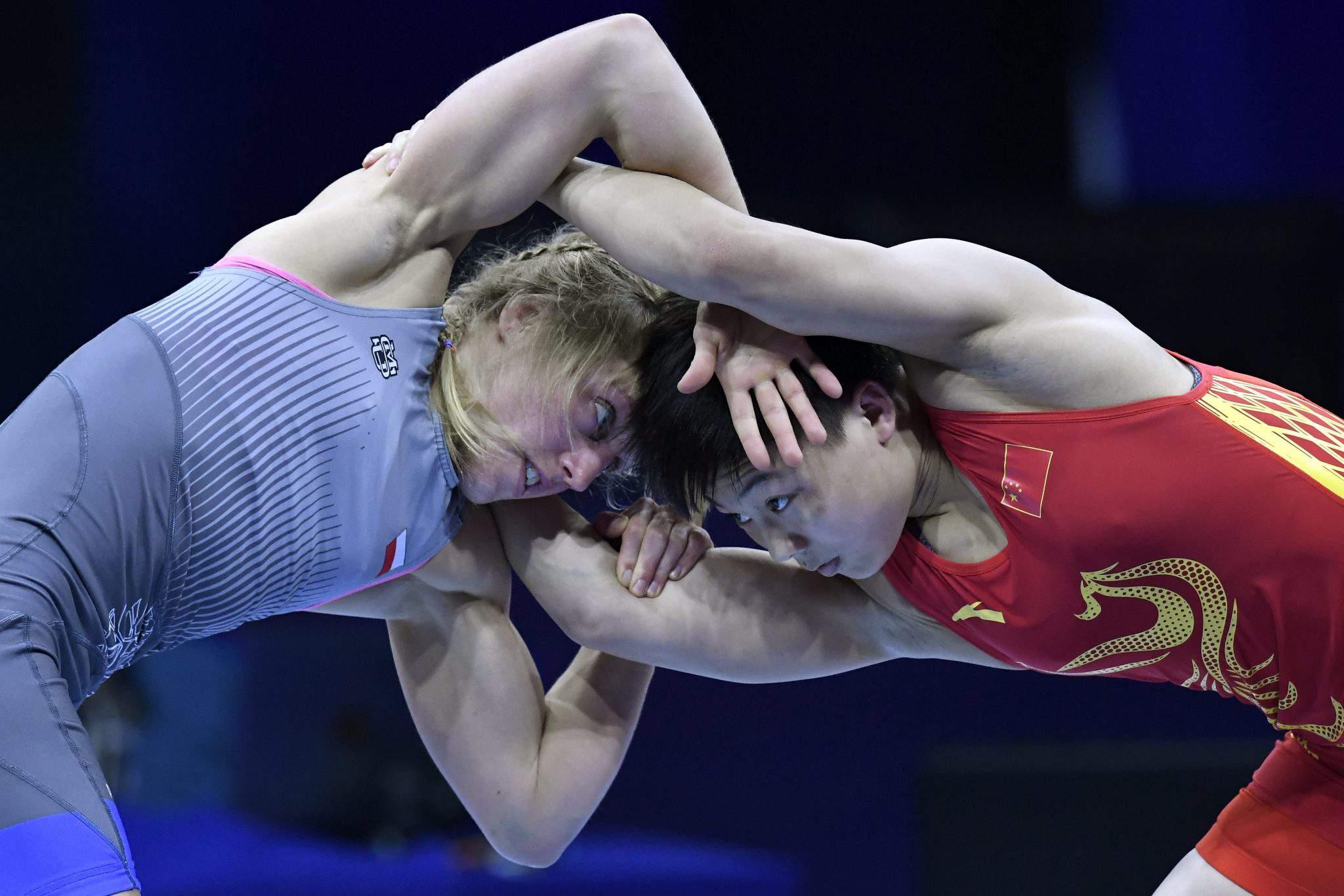 World Wrestling Championships in Budapest