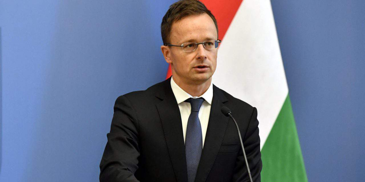 Hungarian foreign minister calls for abstaining from 'hysteria and excessive emotions' in EU-US trade talks