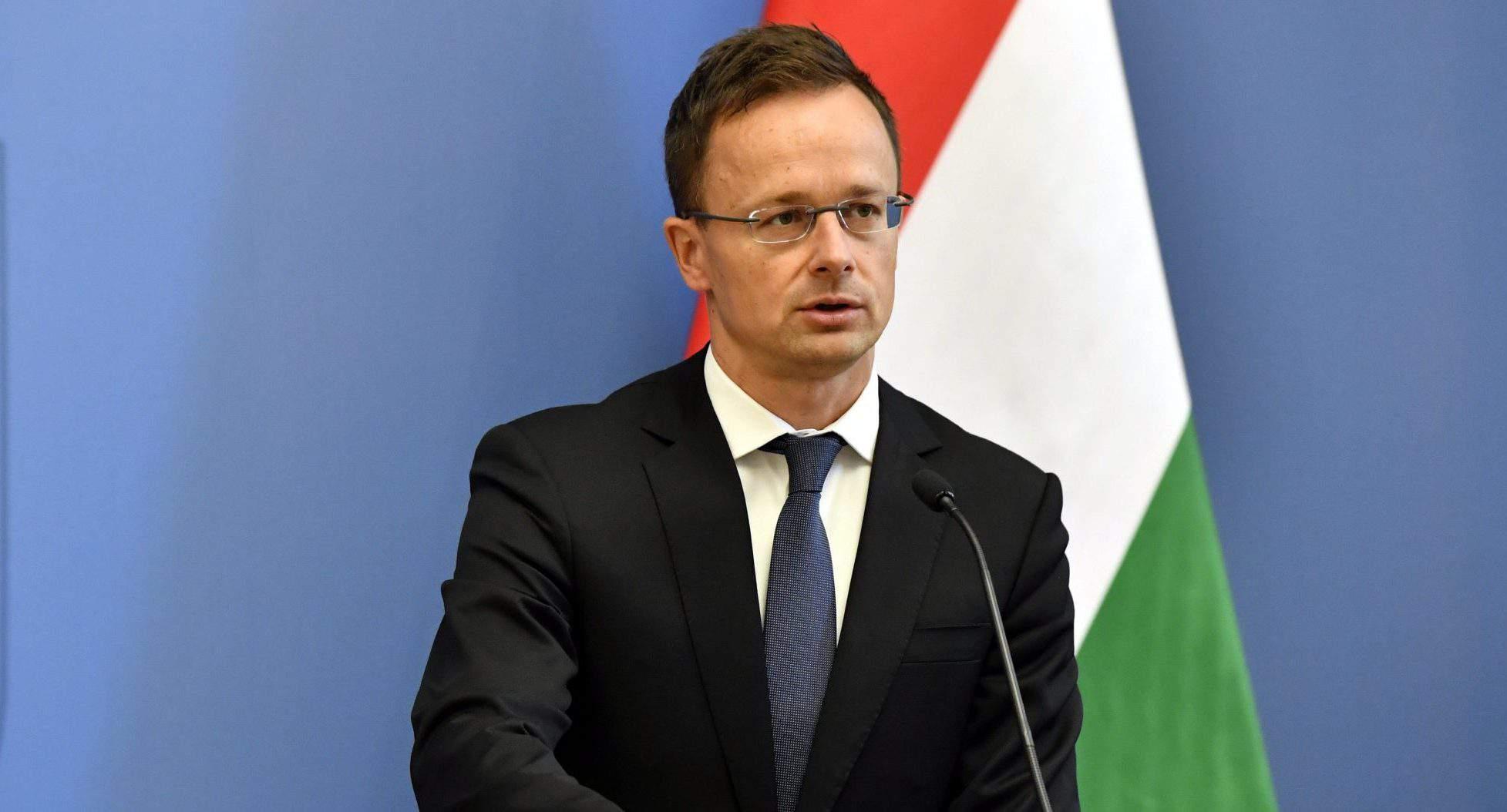 Hungarian foreign minister Szijjártó