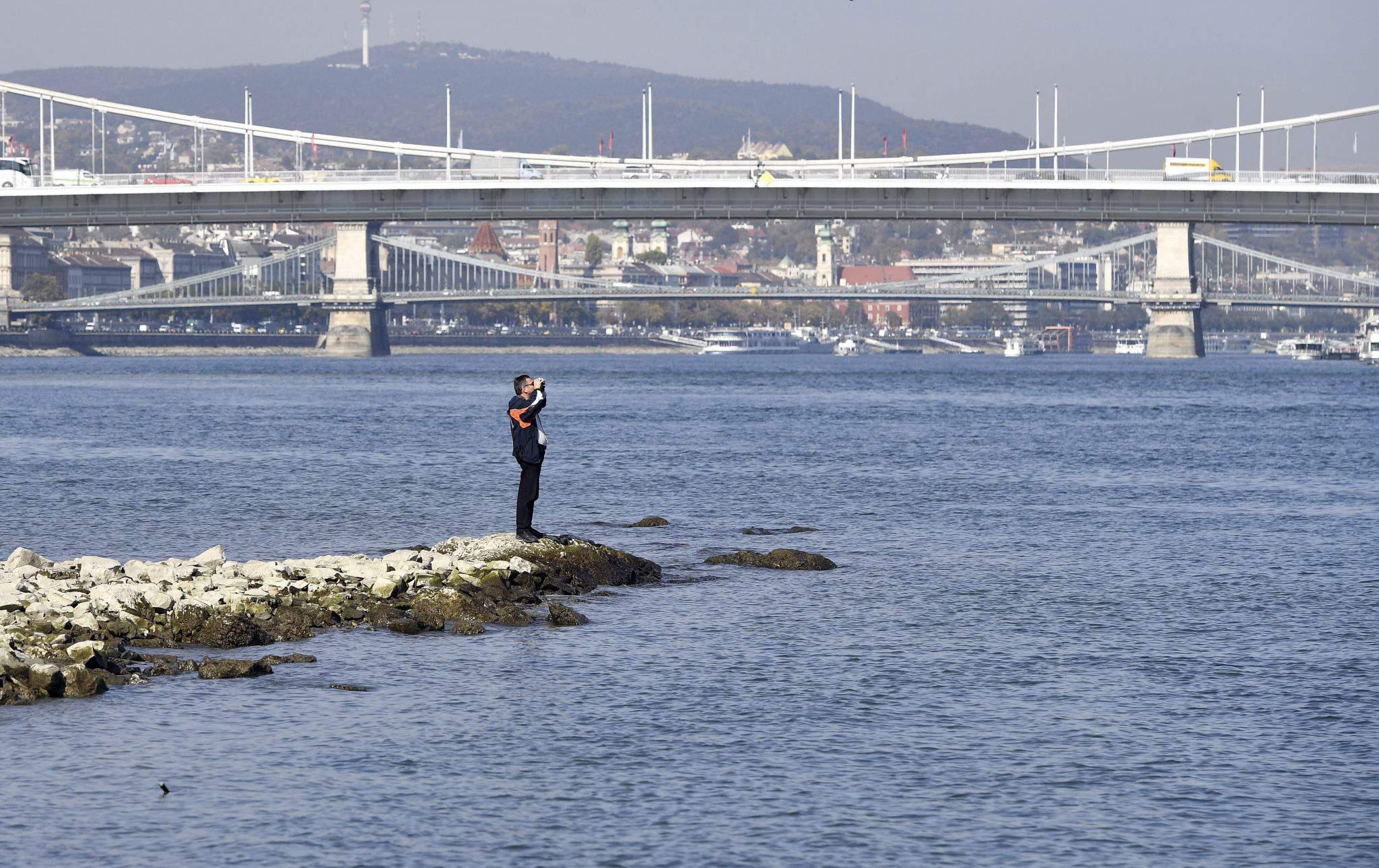 low water level Danube