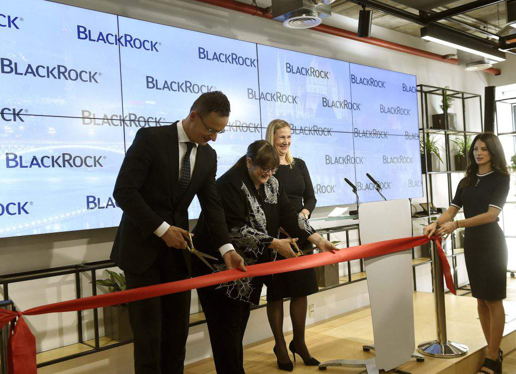 Blackrock inaugurated an innovation centre in Budapest