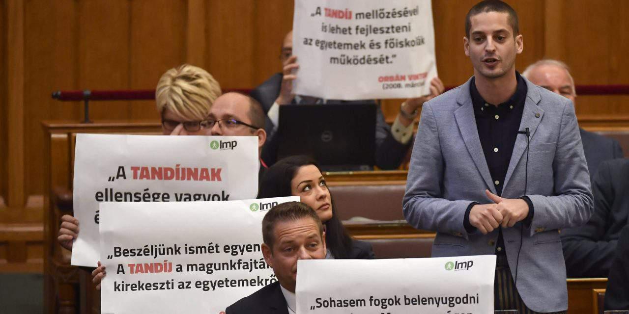 Green opposition LMP sees political showdown against CEU