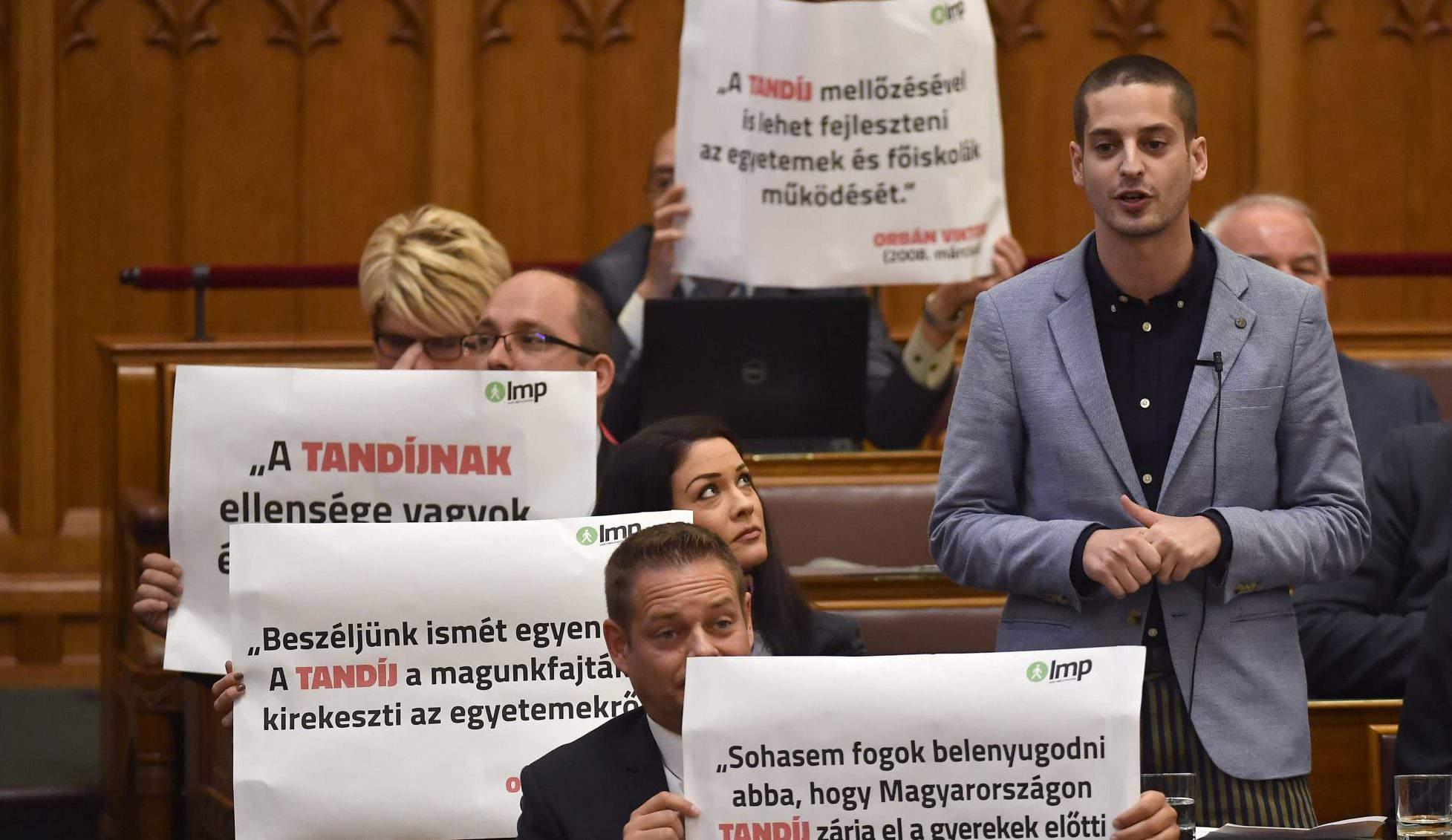 MP Ungár LMP party