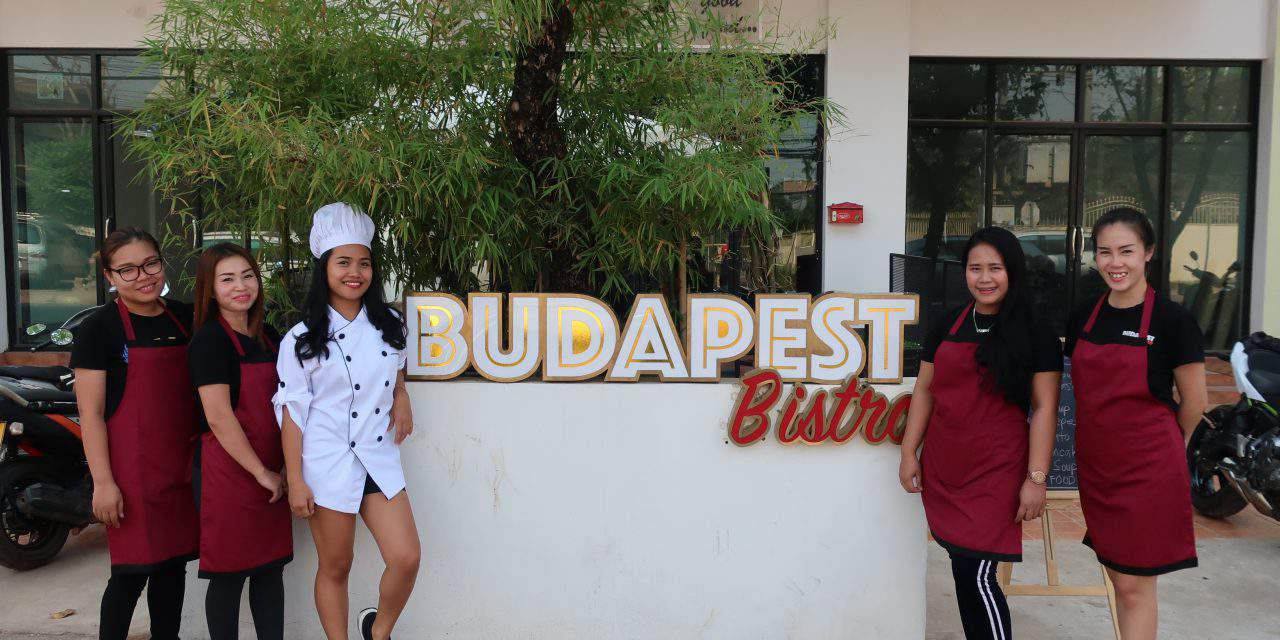 Budapest Bistro in Laos – Gundel Pacakes of the shores of Lake Mekong!