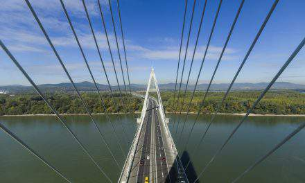 Hungary's longest and most expensive bridge – Megyeri Bridge is 10 years old!