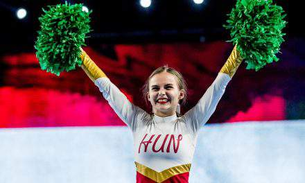 The first Hungarian University Cheerleading team just won a World Championship