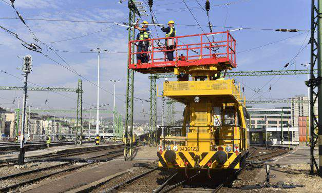 Rail transport to restart at Déli after two-week maintenance