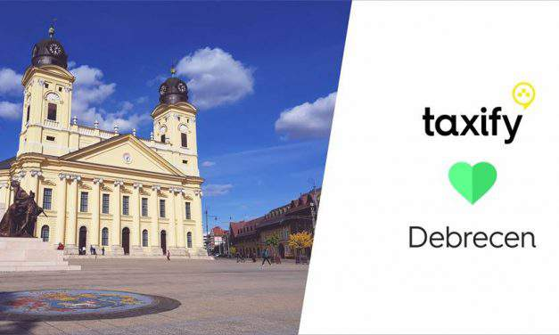 Taxify has now appeared in Debrecen