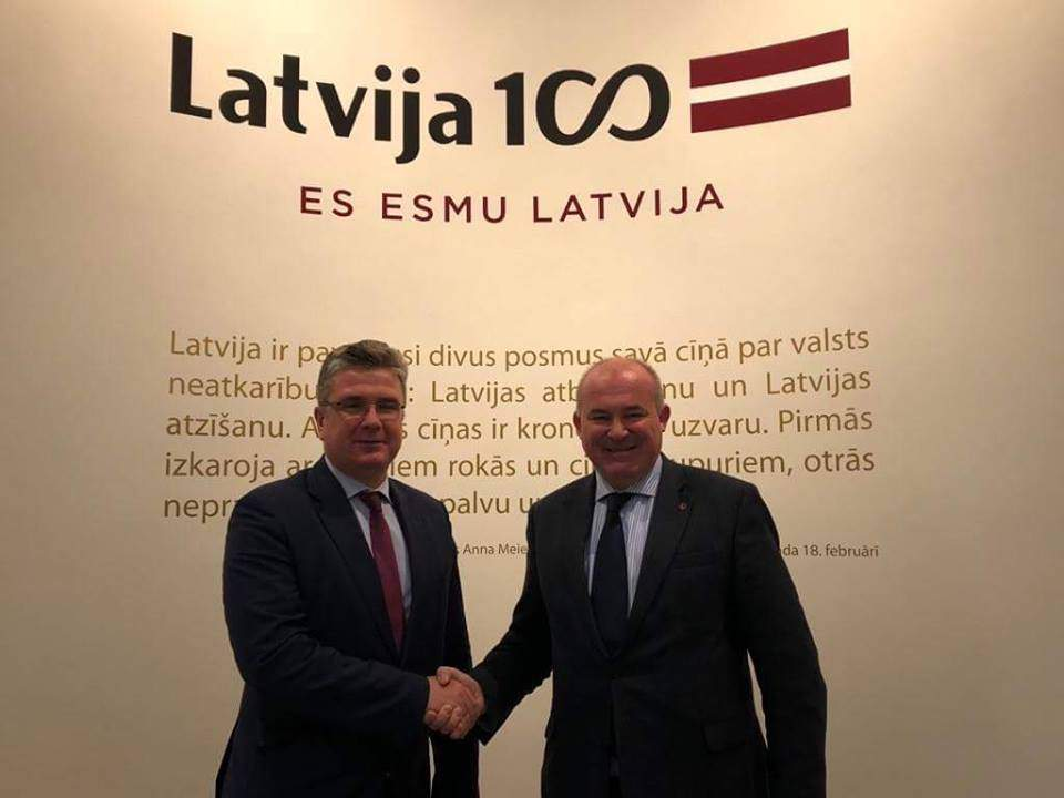 Hungary Latvia cooperation
