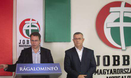 Jobbik complains party suffering 'biggest smear campaign of all time'