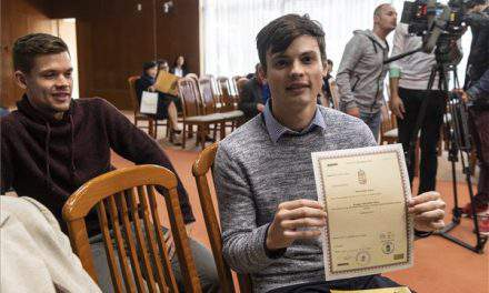 American Olympic silver medalist John-Henry Krueger now a Hungarian citizen!