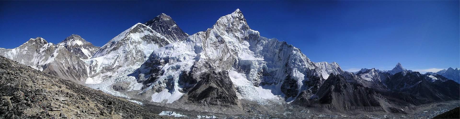 Himalaya Mount Everest mountain summit