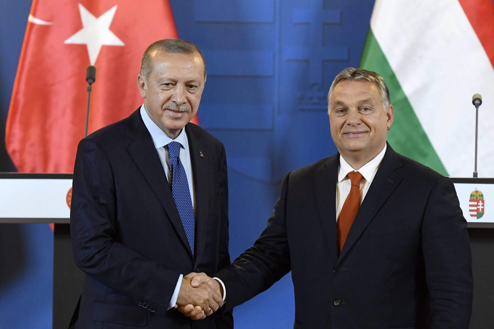 Orbán Erdogan meeting