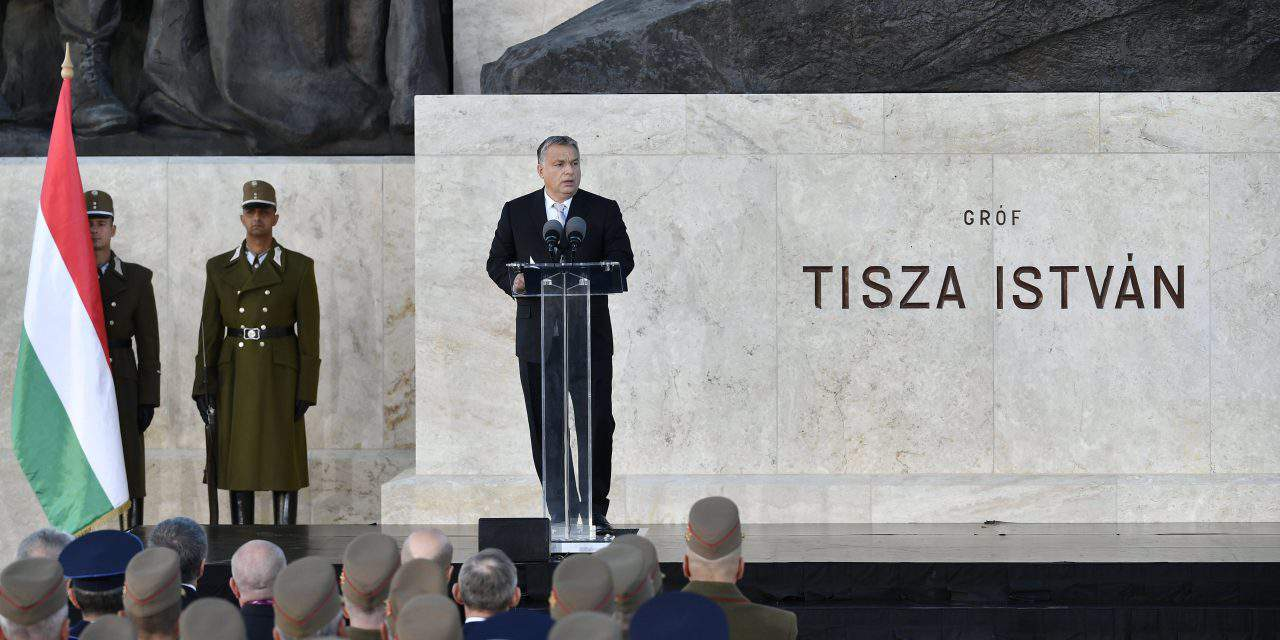 Orbán marks centenary of 20th century PM Tisza's death
