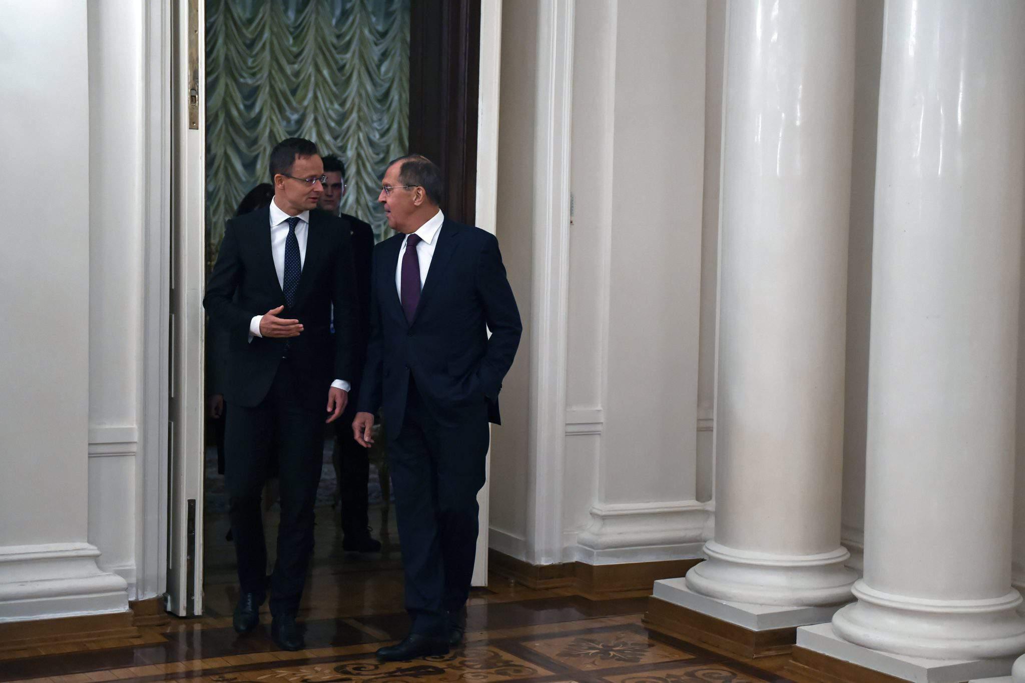Russia Hungary ties