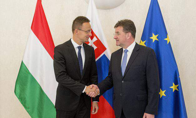 Hungarian foreign minister: Hungary-Slovakia ties 'at their best'